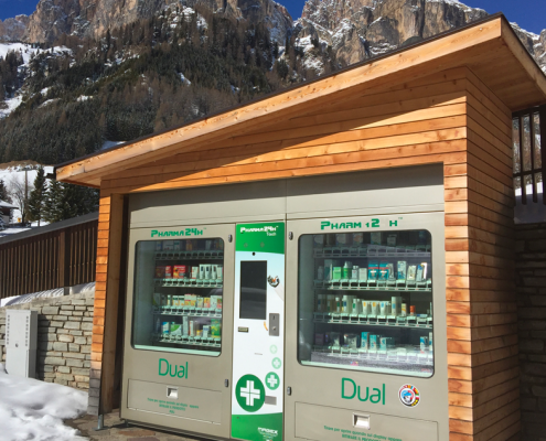 outdoor vending machine
