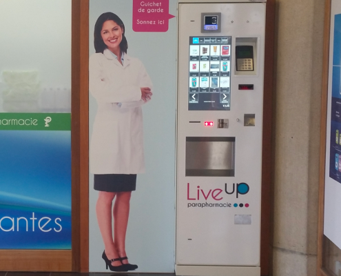 consolle prodotti farmacia