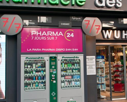 distributore doppio farmacia