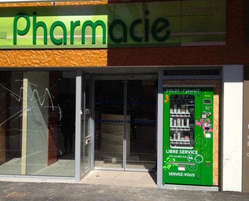 vending machine for pharmacy
