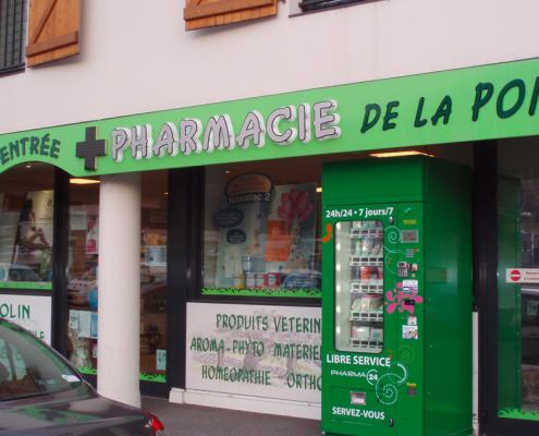 vending machine for pharmacies